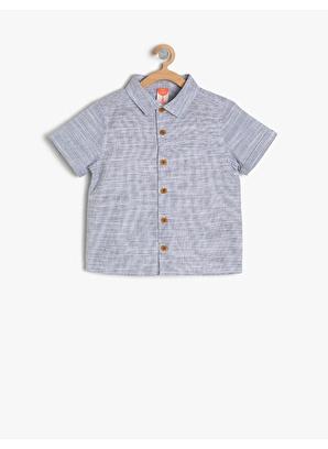 Koton Kids Klasik Yaka Gömlek